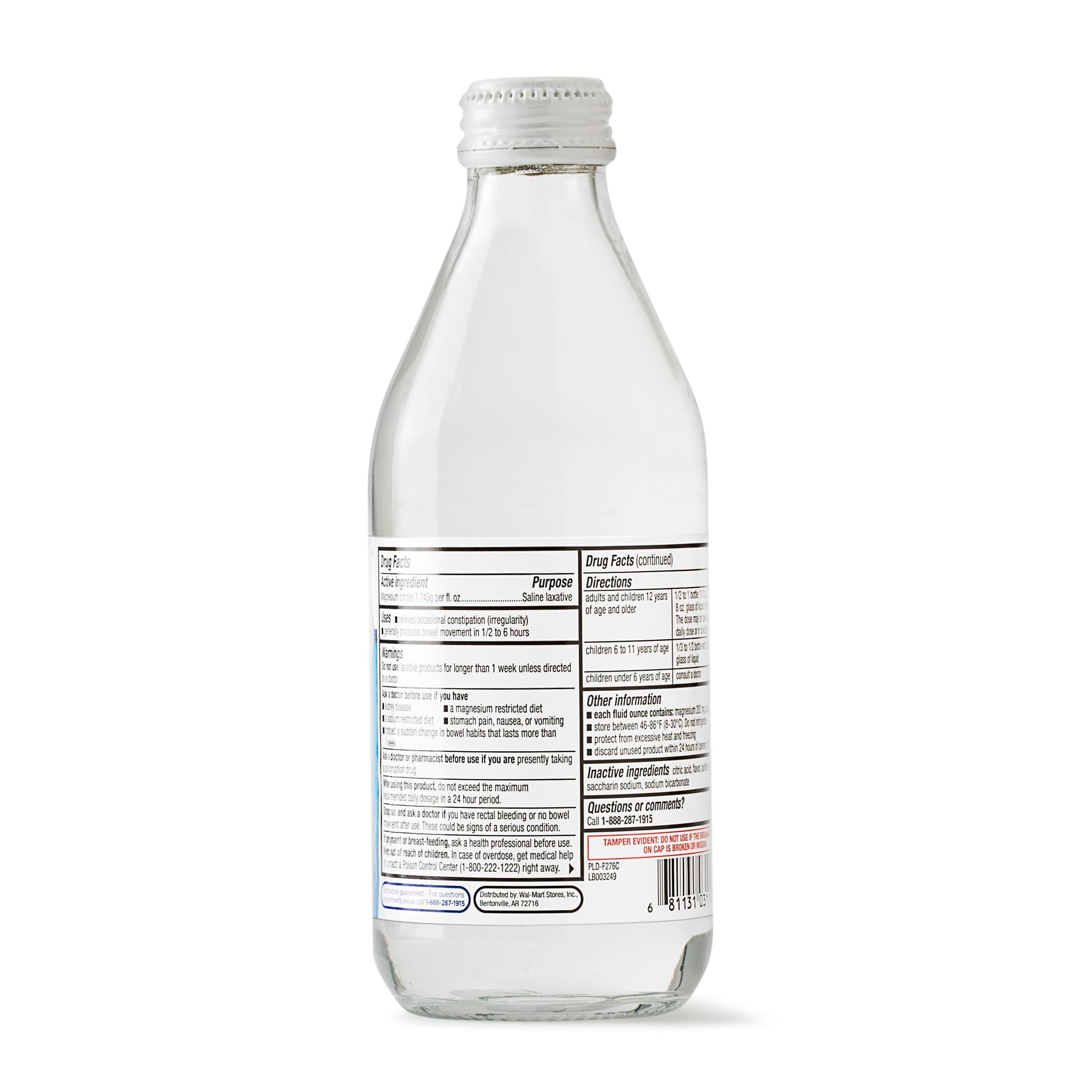 Fine Equate Magnesium Citrate Saline Laxative Lemon Flavor 10 Oz Pabps2019 Chair Design Images Pabps2019Com