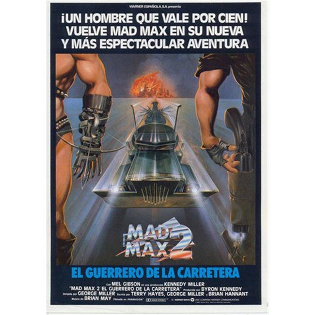 Mad Max 2: The Road Warrior Movie POSTER 11 x 17 USA NEW Mel Gibson A