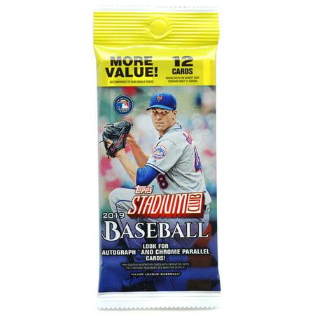 MLB 2019 Baseball Stadium Club Trading Card Fat