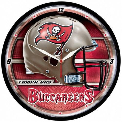 NFL - Tampa Bay Buccaneers Round Clock