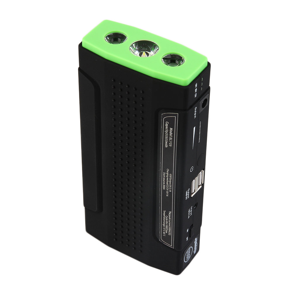 50800mAh 12V Car Emergency Start Power Bank Vehicle Jump ...