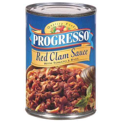 Progresso: Red Clam Sauce Sauce, 15 oz