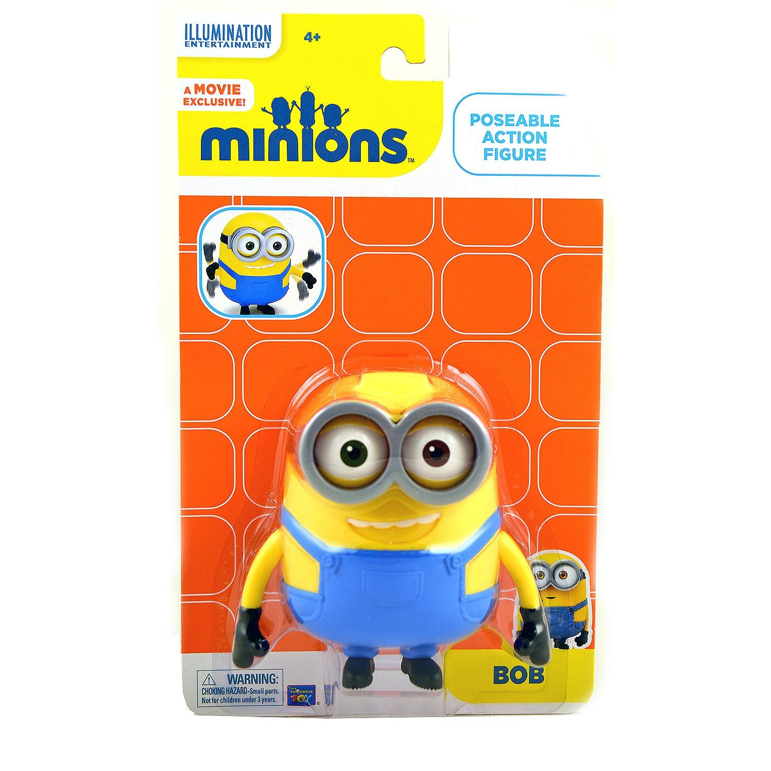 The Minions Bob Poseable Action Figure [4.75 Inches] By Minions, The by
