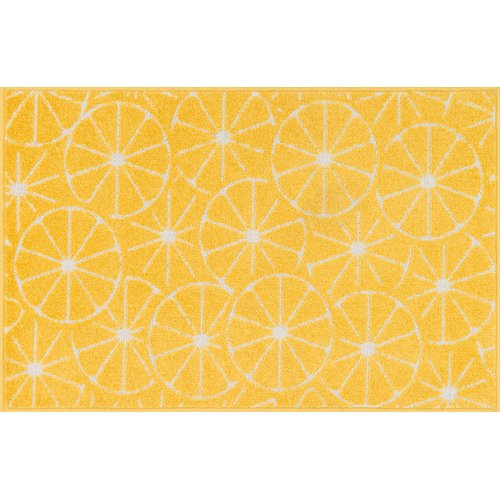 Ebern Designs Colley-Critchlow Yellow Area Rug