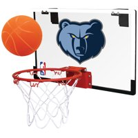 Rawlings NBA Game On Basketball Hoop Set, Memphis Grizzlies