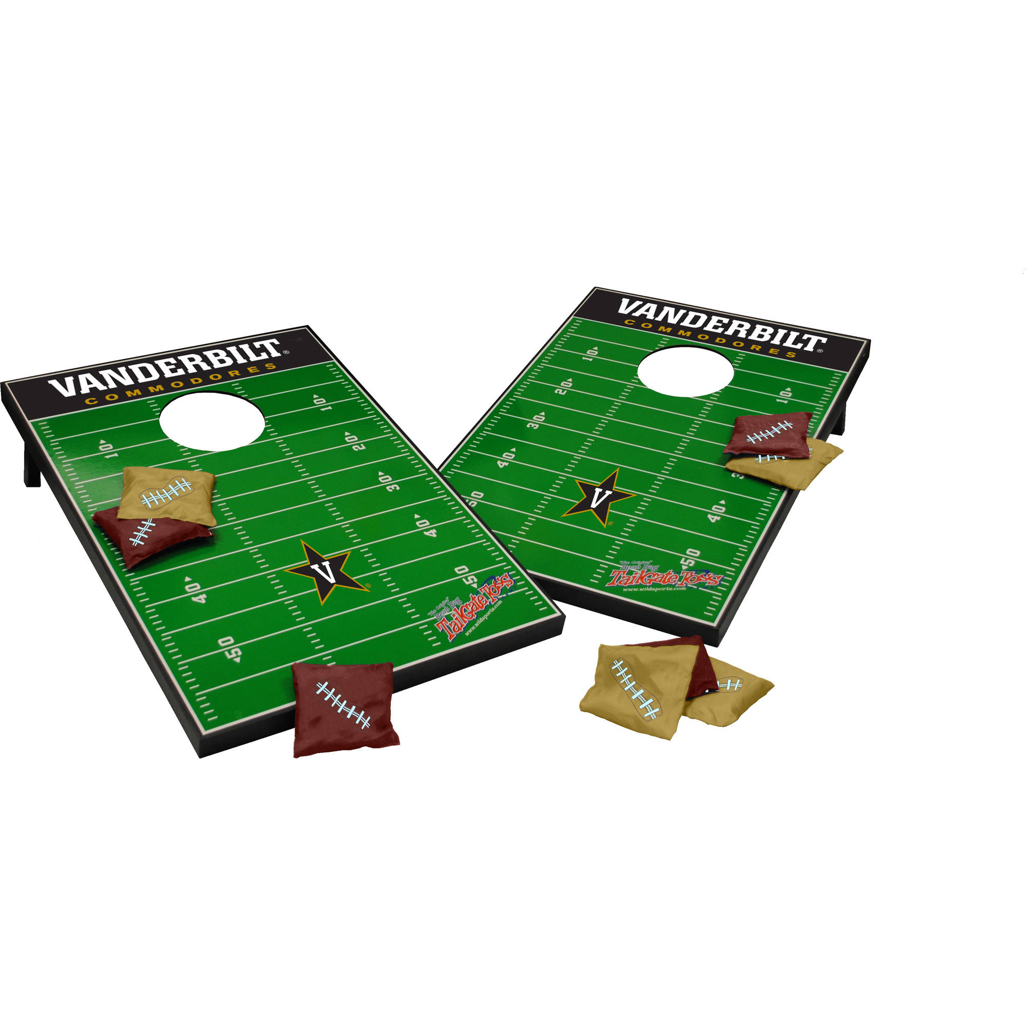 Wild Sports Collegiate Vanderbilt Commodores 2x3 Field Tailgate Toss by Wild Sports