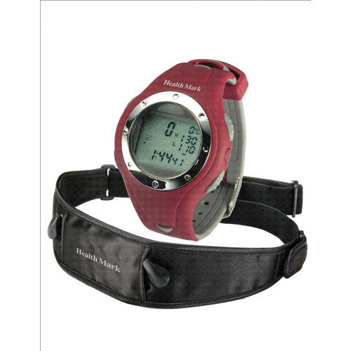 Health Mark, Inc. Heart Rate Monitor in Red