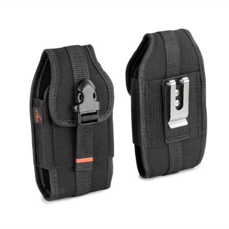 For Samsung Galaxy J3 Emerge SM-J327P, HEAVY DUTY RUGGED AGOZ Case Holster w/ Metal Clip, Belt Loops, Velcro Closure, Card Slot, Front Buckle Clip