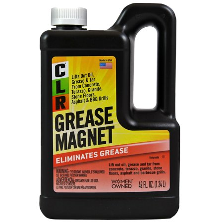 Clr Grease Magnet Industrial Strength Degreaser 42 Oz Pourable Bottle