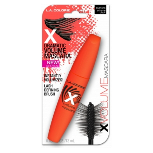 LA Colors X Volume Mascara, Extreme Black, 0.43 Oz