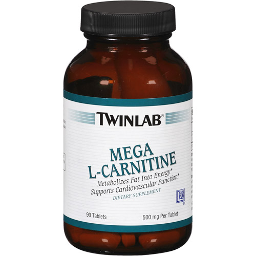 Twinlab Mega L-Carnitine Tablets, 90ct