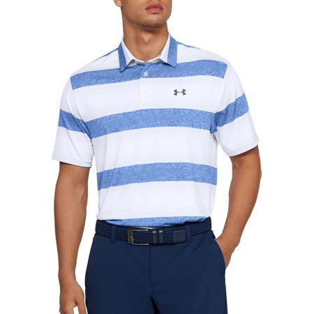 Under Armour Men's Playoff 2.0 Rugby Stripe Golf Polo Under Armour Nylon Rugby
