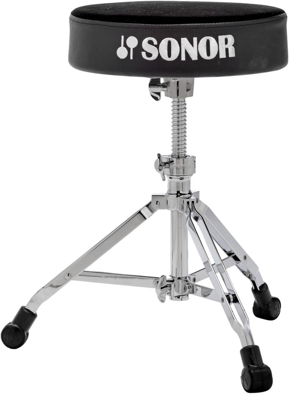 Sonor 4000 Series Drum Throne Black Velour by Sonor