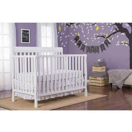 Dream On Me Alissa Convertible 4 In 1 Crib  White