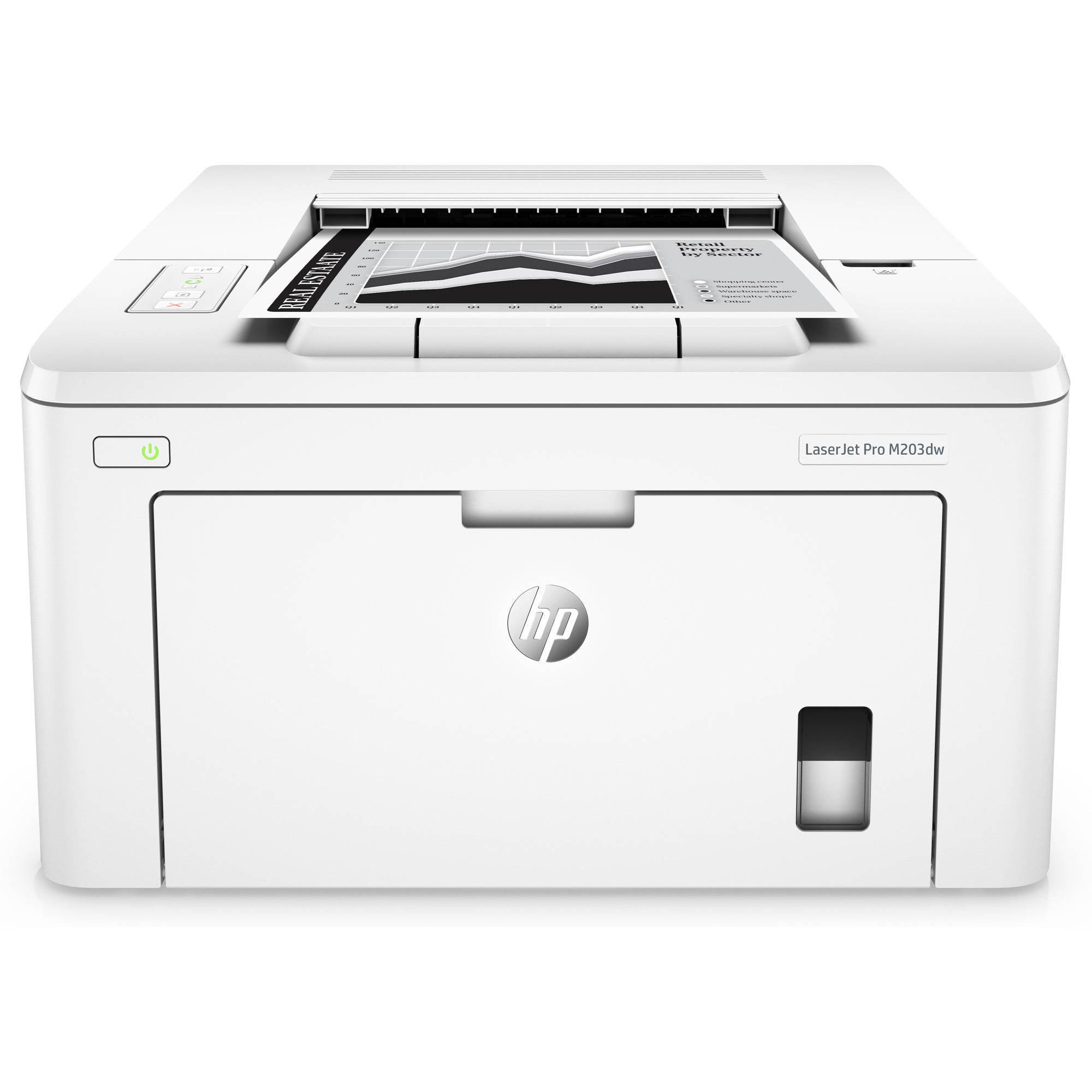 Recertified HP G3Q47AR#BGJ LaserJet Pro M203dw Printer