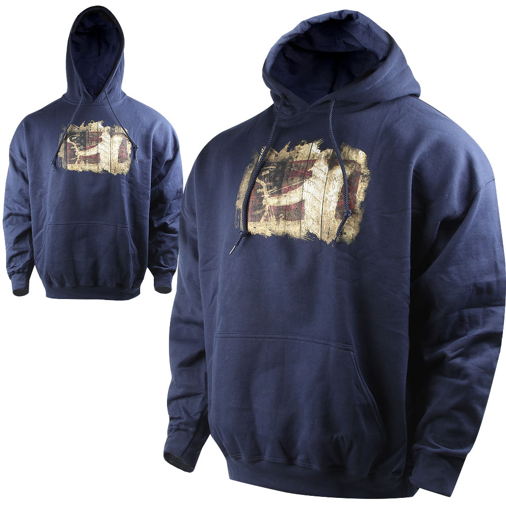 Major League Bowhunter Reed Hoodie (L)- Navy