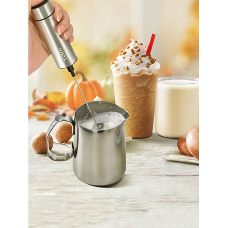Battery Operated Frother (Stainless Steel Handheld Electric Milk Frother,Milk Frother Handheld Battery Operated Electric Foam Maker For Coffee)