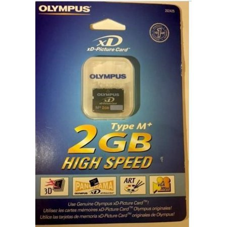 Olympus xD-Picture Card M+ 2 GB High Speed M-XD2GMP (Olympus High Speed Photo)