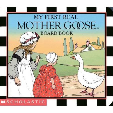My 1st Real Mother Goose Board Book (Board Book)