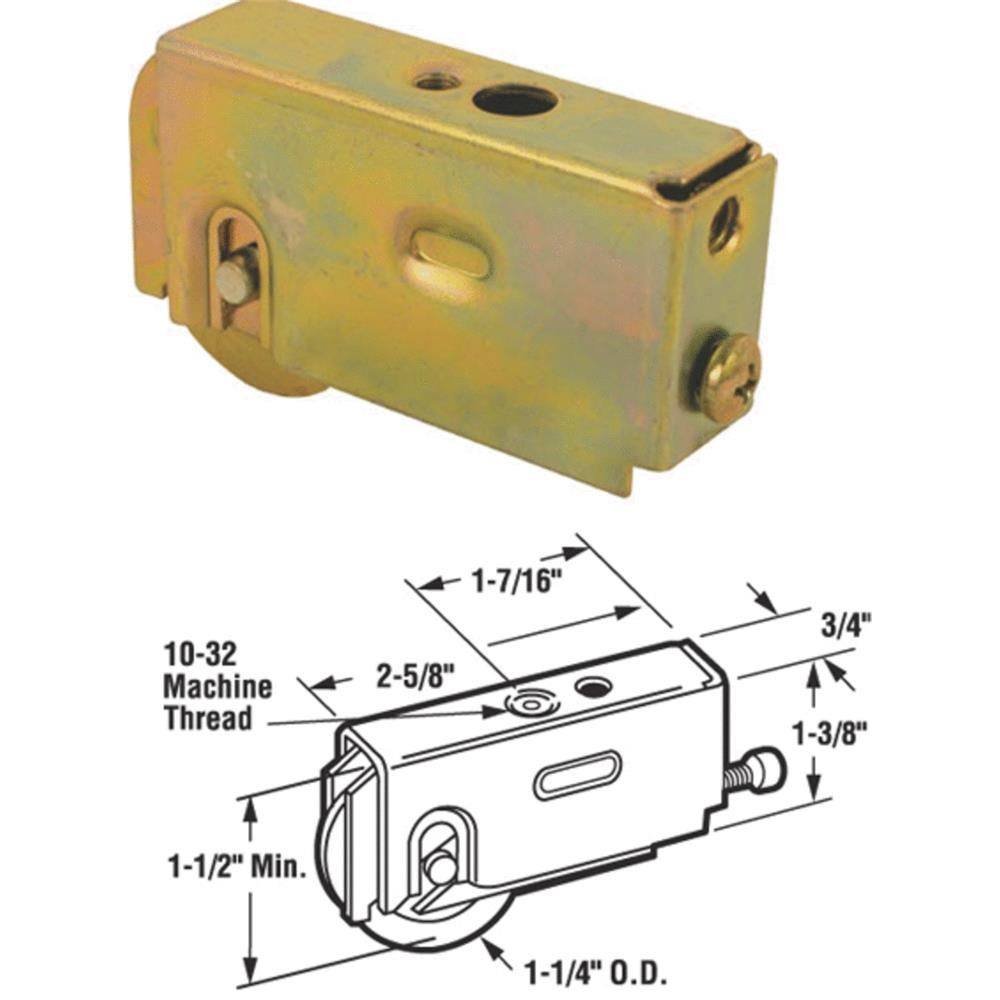 Prime Line Products 131476 Sliding Glass Door Roller Assembly, 2-5/8-In.