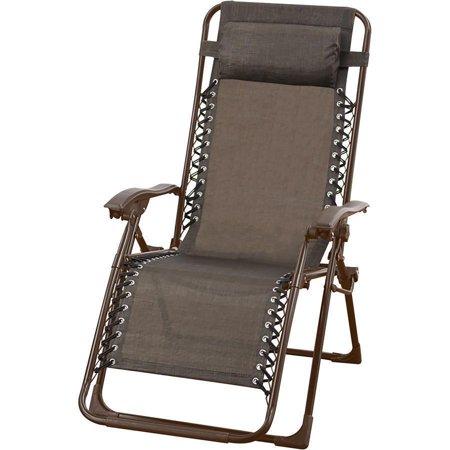 F. Corriveau International Chaise Multipositions Zero Gravité Bronze - image 1 de 2
