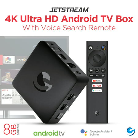Jetstream 4K Ultra - Android TV Oreo - $69