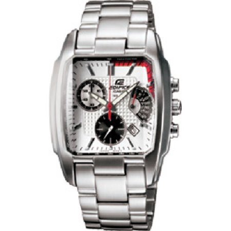 Casio Casio Edifice Mens Stainless Steel Square Watch Ef 519d