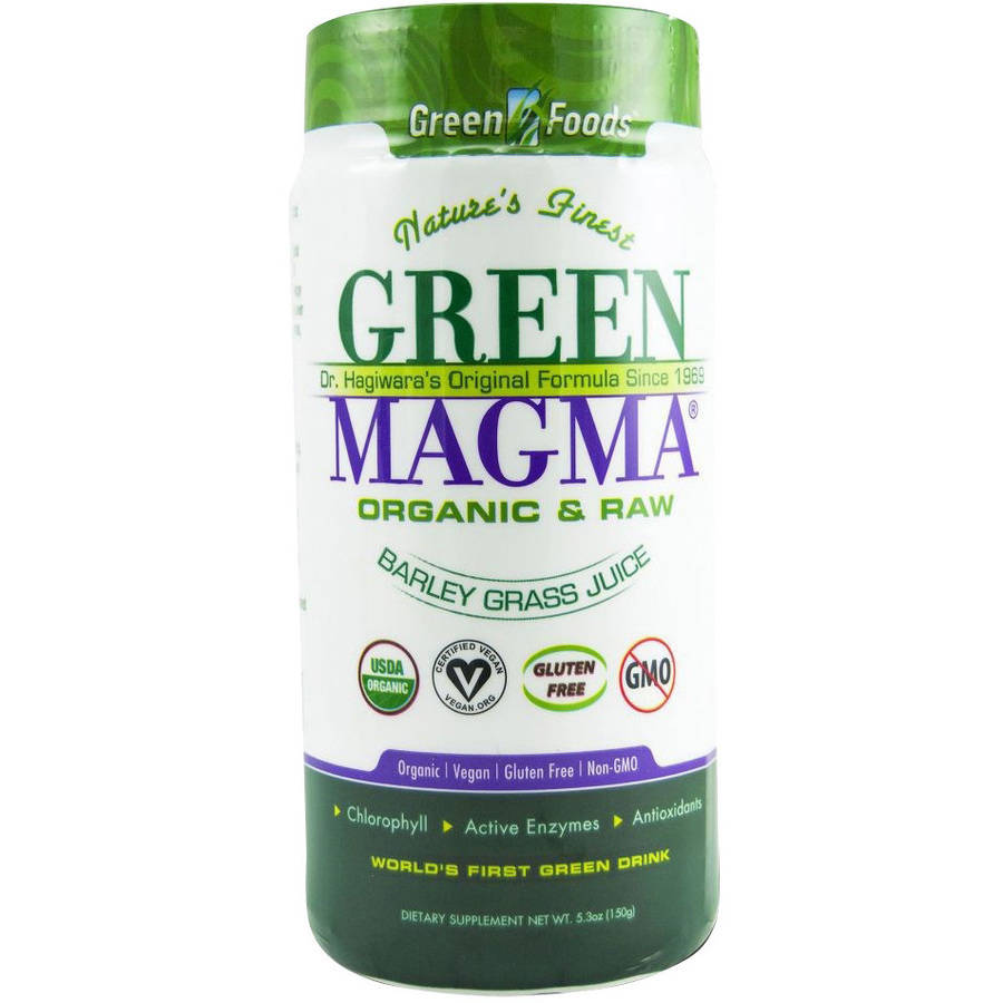 Green Foods Corporation Green Magma Original, 5.3 FL OZ