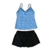 MiracleSuit Womens Malibu Skirted 2 Piece Tankini