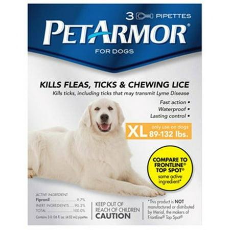 3PK Dog Flea Treatment
