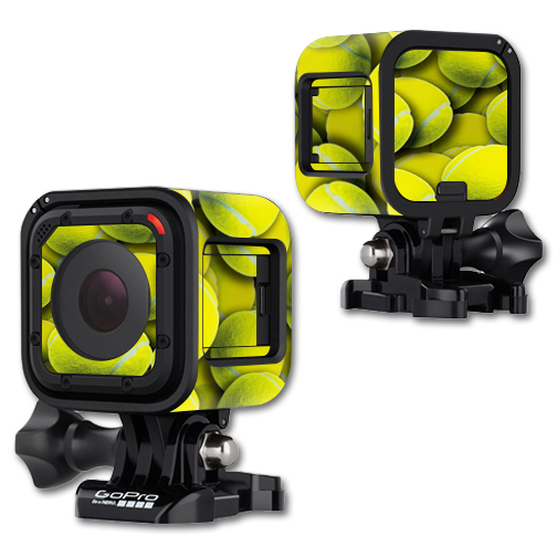 MightySkins Protective Vinyl Skin Decal Cover for GoPro Hero4 Session Camera Digital Camcorder Sticker Skins Tennis