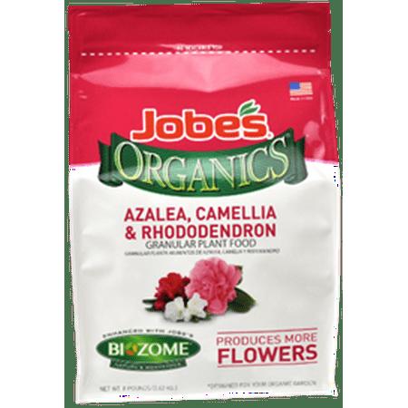 Jobe's Organic 8lbs. Granular Azalea, Camellia & Rhododendron Plant - Jobes Azalea