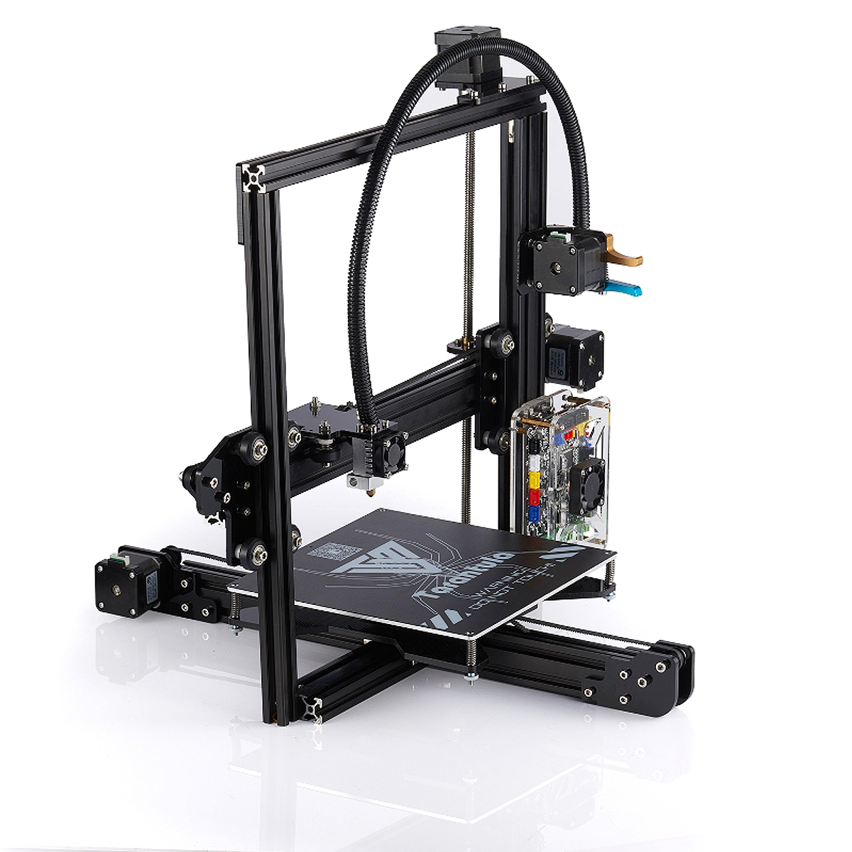 DIY 3D Printer Kit 0.4mm Nozzle Standard Tarantula Prusa I3 With 2 Filaments US