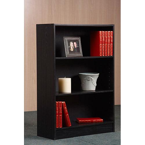Orion 36u0022 3-Shelf Bookcase, Multiple Finishes