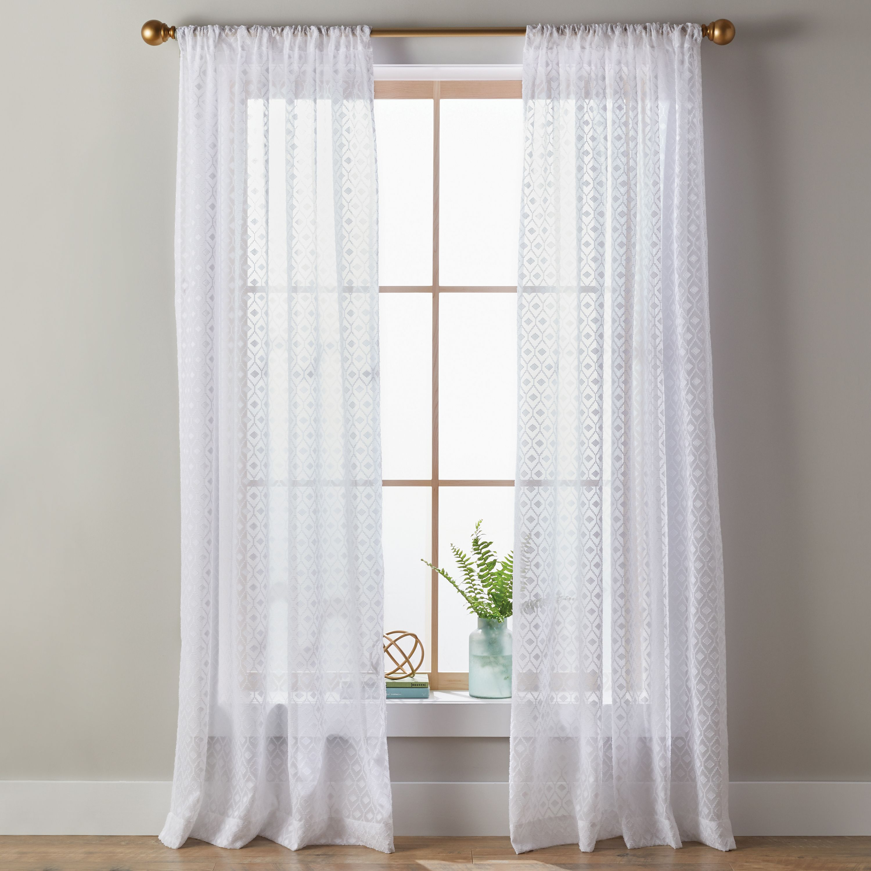 Better Homes and Gardens Clipped Diamond Pole Top Panel