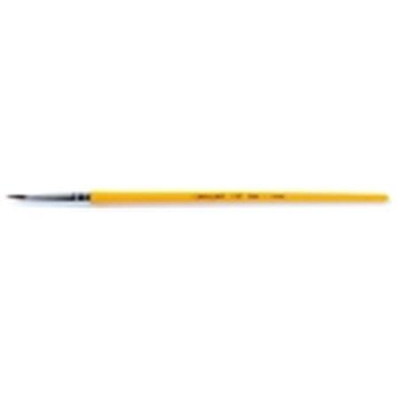 Crayola Round Economy Good Grade Short Plastic Handle Watercolor Paint Brush - Size 12, 1. 06 inch Hair (Crayola Watercolor Paint)