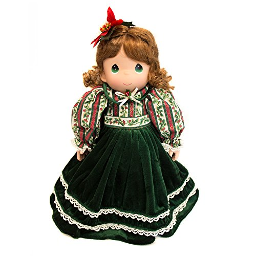 Collectible Plush Precious Moments Christmas Doll & Stocking by Precious Moments