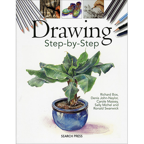 Search Press Books Drawing Step-By-Step
