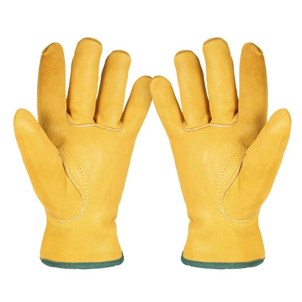 Cowhide Gloves Gardening Digging