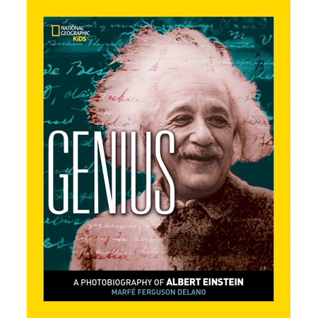 Albert Einstein Photograph - Genius : A Photobiography of Albert Einstein