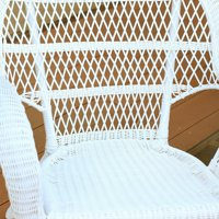 Jeco Santa Maria Wicker Patio Chair with Optional Cushion by Jeco Inc
