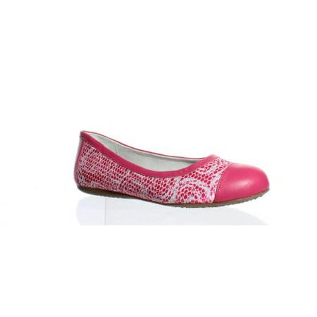 Softwalk Womens Napa Pink Rose Ballet Flats Size 6 (C,D,W)