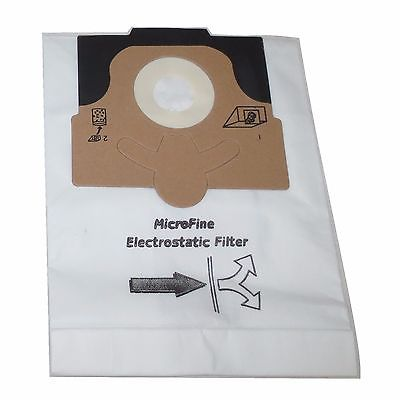 Eureka Style EX Vacuum Bags Micro Lined Allergen Filtration Power Team Type Vac [Single Bag] (Micro Lined 99.7% Filtration)