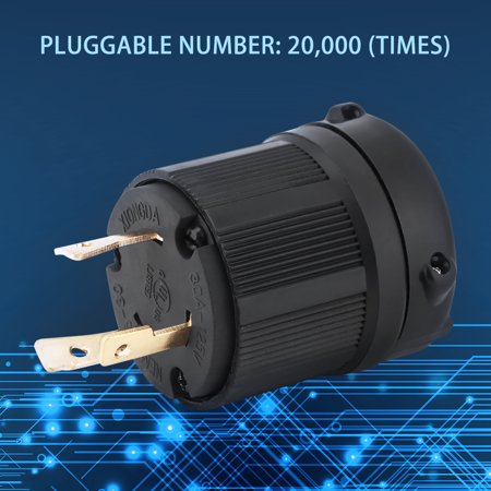 Phenomenal Nema L5 30 30A 125V 3 Wire Twist Lock Electrical Plug Connector Wiring 101 Louspimsautoservicenl