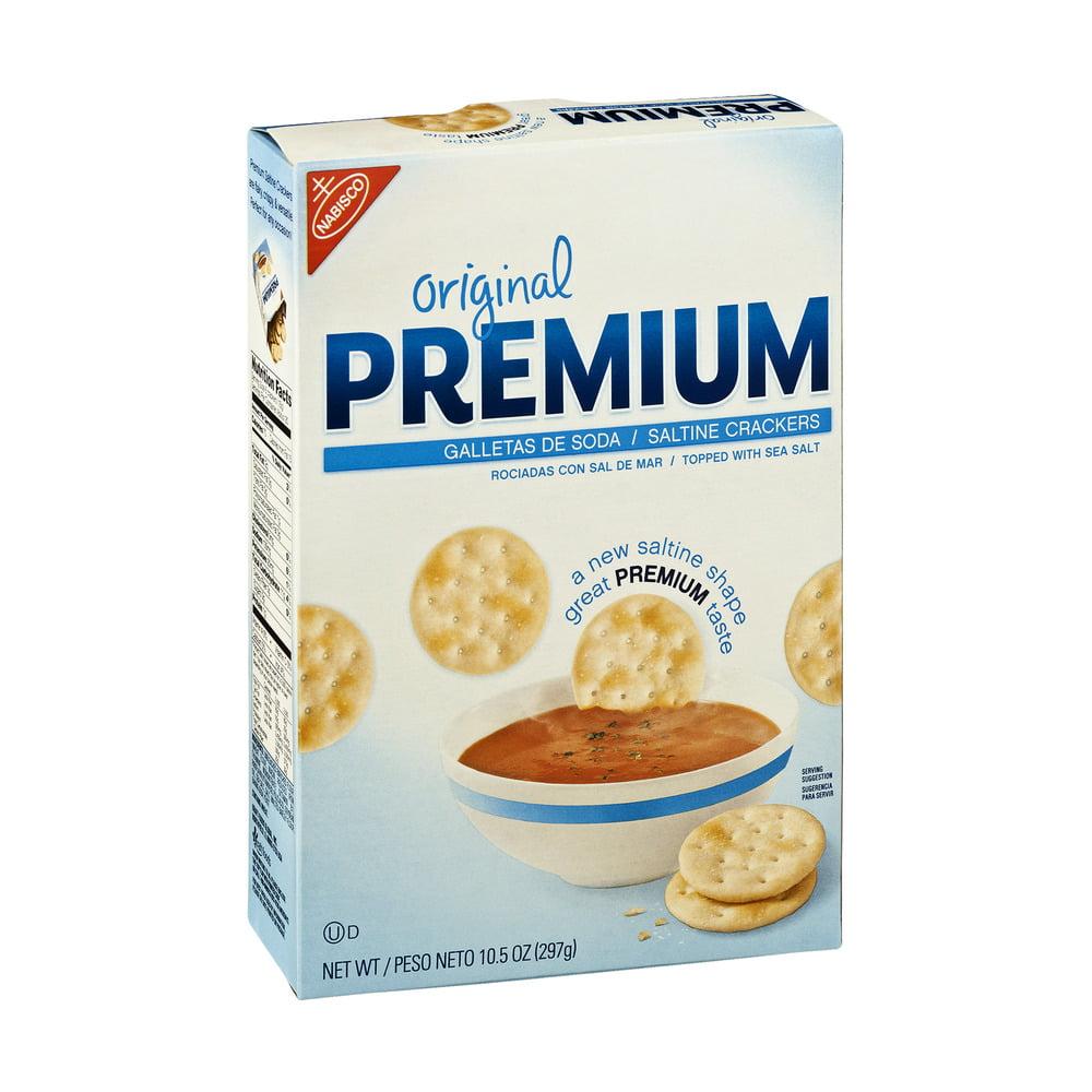 Nabisco Premium Original Saltine Crackers Fresh Stacks, 10.5 oz, 8ct