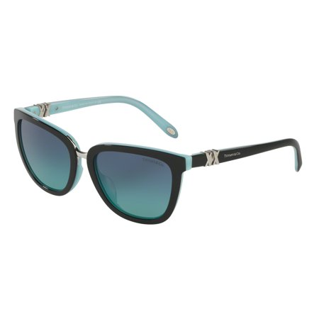 Tiffany 0TF4123 Full Rim Square Womens Sunglasses - Size 55 (Blue Gradient)](Tiffany And Co Bags)