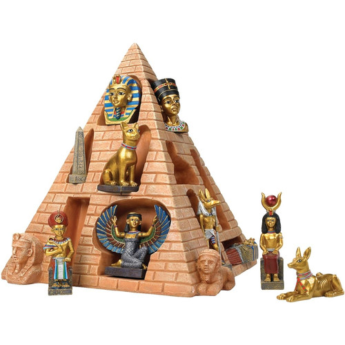 Design Toscano Icons of Egypt Collectible Pyramid Sculpture