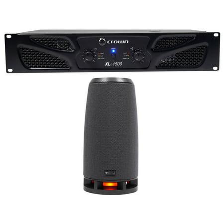 Crown Prop (Crown Pro XLi1500 900w 2 Channel DJ/PA Power Amplifier Professional)