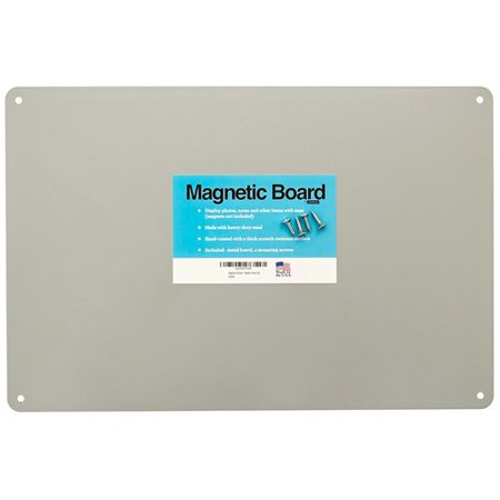 "17.5"" x 12"" Magnetic Board - Made in the USA - Great Magnetic Bulletin Board"