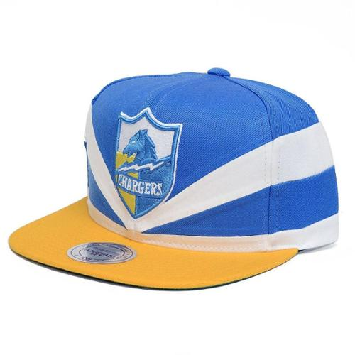 San Diego Chargers Mitchell Amp Ness Slash Cut And Sew